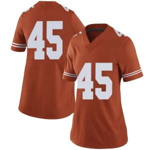 Chris Naggar Nike Texas Longhorns Women's Limited Women Football College Jersey - Orange
