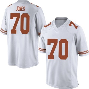 Christian Jones Nike Texas Longhorns Men's Replica Mens Football College Jersey - White