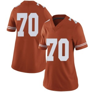 Christian Jones Nike Texas Longhorns Women's Limited Women Football College Jersey - Orange
