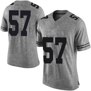 Cort Jaquess Nike Texas Longhorns Men's Limited Mens Football College Jersey - Gray