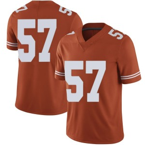 Cort Jaquess Nike Texas Longhorns Men's Limited Mens Football College Jersey - Orange