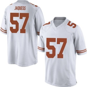 Cort Jaquess Nike Texas Longhorns Men's Replica Mens Football College Jersey - White