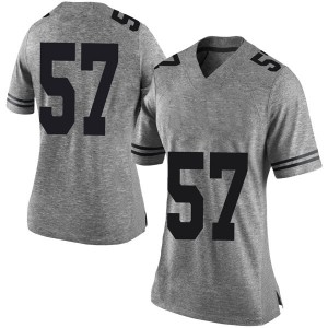 Cort Jaquess Nike Texas Longhorns Women's Limited Women Football College Jersey - Gray