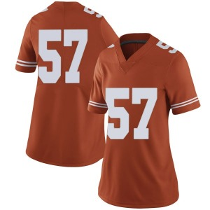 Cort Jaquess Nike Texas Longhorns Women's Limited Women Football College Jersey - Orange
