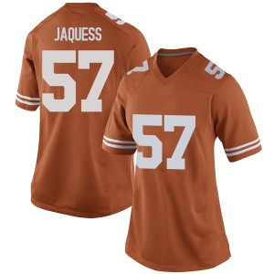 Cort Jaquess Nike Texas Longhorns Women's Replica Women Football College Jersey - Orange