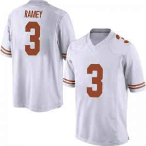 Courtney Ramey Nike Texas Longhorns Men's Game Mens Football College Jersey - White