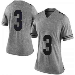 Courtney Ramey Nike Texas Longhorns Women's Limited Women Football College Jersey - Gray