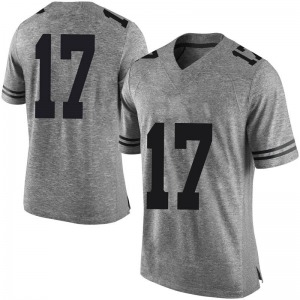 D'Shawn Jamison Nike Texas Longhorns Men's Limited Mens Football College Jersey - Gray