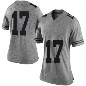 D'Shawn Jamison Nike Texas Longhorns Women's Limited Women Football College Jersey - Gray