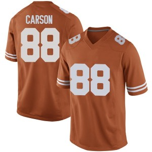 Daniel Carson Nike Texas Longhorns Men's Game Mens Football College Jersey - Orange