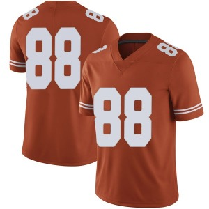 Daniel Carson Nike Texas Longhorns Men's Limited Mens Football College Jersey - Orange