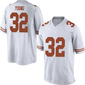 Daniel Young Nike Texas Longhorns Men's Replica Mens Football College Jersey - White