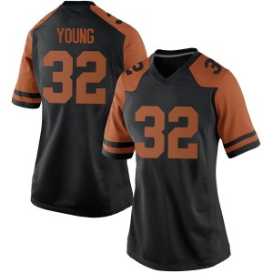 Daniel Young Nike Texas Longhorns Women's Game Women Football College Jersey - Black