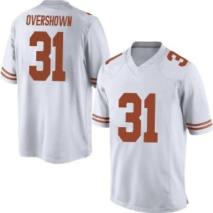 DeMarvion Overshown Nike Texas Longhorns Men's Game Mens Football College Jersey - White