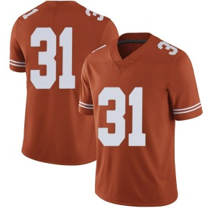 DeMarvion Overshown Nike Texas Longhorns Men's Limited Mens Football College Jersey - Orange