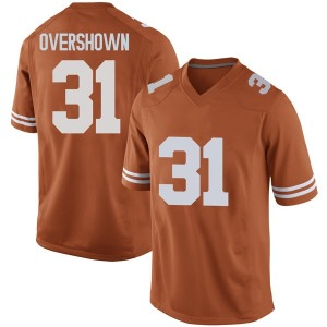 DeMarvion Overshown Nike Texas Longhorns Men's Replica Mens Football College Jersey - Orange