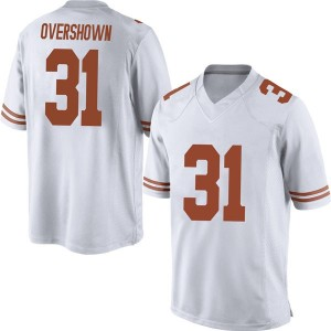 DeMarvion Overshown Nike Texas Longhorns Men's Replica Mens Football College Jersey - White