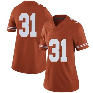 DeMarvion Overshown Nike Texas Longhorns Women's Limited Women Football College Jersey - Orange