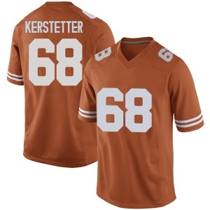 Derek Kerstetter Nike Texas Longhorns Men's Game Mens Football College Jersey - Orange