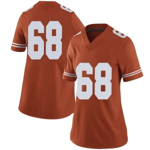 Derek Kerstetter Nike Texas Longhorns Women's Limited Women Football College Jersey - Orange