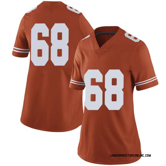 Derek Kerstetter Nike Texas Longhorns Women's Limited Women Football College Jersey - Orange