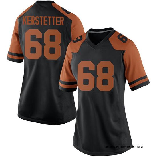 Derek Kerstetter Nike Texas Longhorns Women's Replica Women Football College Jersey - Black