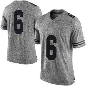 Devin Duvernay Nike Texas Longhorns Men's Limited Mens Football College Jersey - Gray