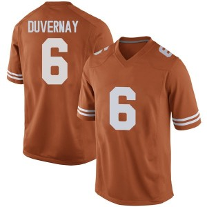 Devin Duvernay Nike Texas Longhorns Men's Replica Mens Football College Jersey - Orange