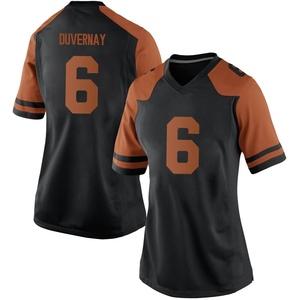 Devin Duvernay Nike Texas Longhorns Women's Game Women Football College Jersey - Black
