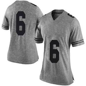 Devin Duvernay Nike Texas Longhorns Women's Limited Women Football College Jersey - Gray