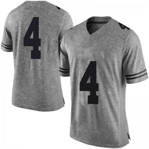 Drayton Whiteside Nike Texas Longhorns Men's Limited Mens Gray Football College Jersey - White
