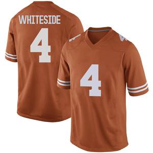 Drayton Whiteside Nike Texas Longhorns Men's Replica Mens Football College Jersey - Orange