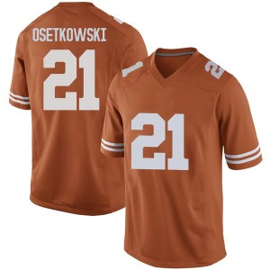 Dylan Osetkowski Nike Texas Longhorns Men's Game Mens Football College Jersey - Orange