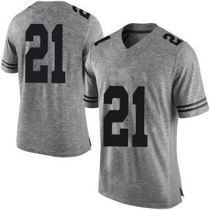 Dylan Osetkowski Nike Texas Longhorns Men's Limited Mens Football College Jersey - Gray