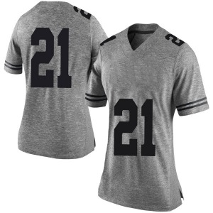 Dylan Osetkowski Nike Texas Longhorns Women's Limited Women Football College Jersey - Gray