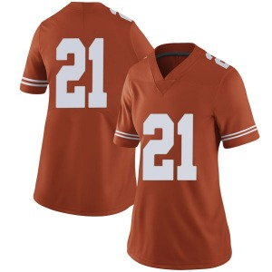 Dylan Osetkowski Nike Texas Longhorns Women's Limited Women Football College Jersey - Orange