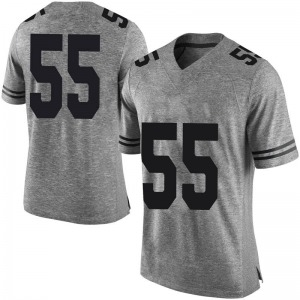 Elijah Mitrou-Long Nike Texas Longhorns Men's Limited Mens Football College Jersey - Gray