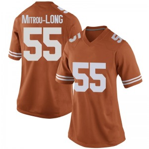 Elijah Mitrou-Long Nike Texas Longhorns Women's Game Women Football College Jersey - Orange