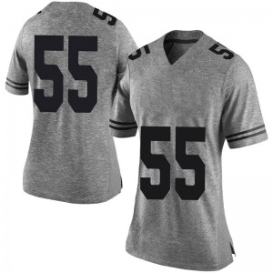 Elijah Mitrou-Long Nike Texas Longhorns Women's Limited Women Football College Jersey - Gray