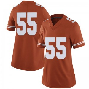 Elijah Mitrou-Long Nike Texas Longhorns Women's Limited Women Football College Jersey - Orange