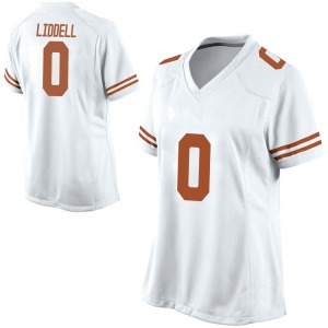Gerald Liddell Nike Texas Longhorns Women's Game Football College Jersey - White