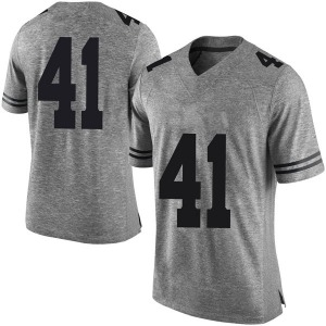 Hank Coutoumanos Nike Texas Longhorns Men's Limited Mens Football College Jersey - Gray
