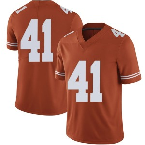 Hank Coutoumanos Nike Texas Longhorns Men's Limited Mens Football College Jersey - Orange