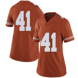 Hank Coutoumanos Nike Texas Longhorns Women's Limited Women Football College Jersey - Orange