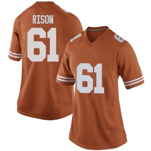 Ishan Rison Nike Texas Longhorns Women's Game Women Football College Jersey - Orange
