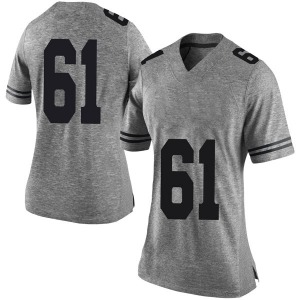 Ishan Rison Nike Texas Longhorns Women's Limited Women Football College Jersey - Gray