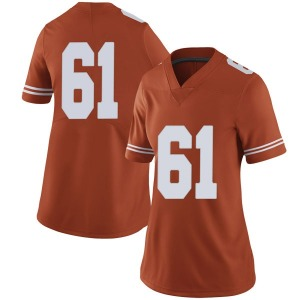 Ishan Rison Nike Texas Longhorns Women's Limited Women Football College Jersey - Orange