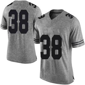 Jack Geiger Nike Texas Longhorns Men's Limited Mens Football College Jersey - Gray