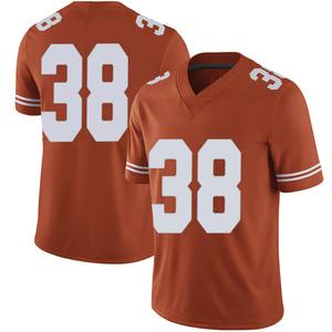 Jack Geiger Nike Texas Longhorns Men's Limited Mens Football College Jersey - Orange