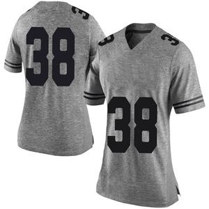 Jack Geiger Nike Texas Longhorns Women's Limited Women Football College Jersey - Gray